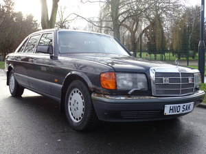 Mercedes 500 SEL best colour combo