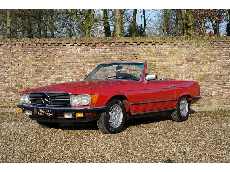 1986 Mercedes Benz 280SL W107 For Sale (picture 1 of 6)