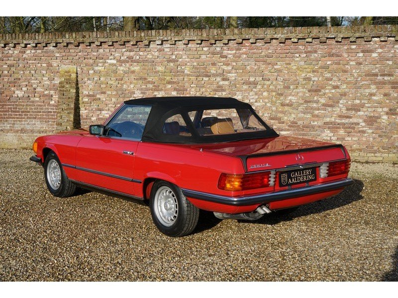 1986 Mercedes Benz 280SL W107 For Sale (picture 2 of 6)