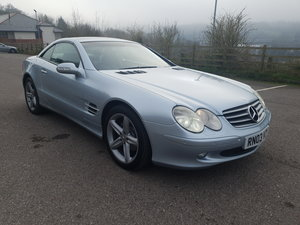 2003 Mercedes-Benz SL350 Automatic For Sale by Auction