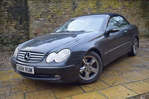 Lot 24-A 2005 Mercedes-Benz 320 CLK convertible - 09/2/202 For Sale by Auction