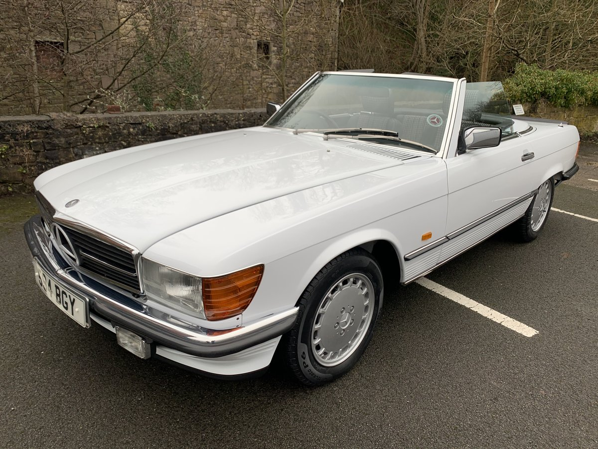 1987 MERCEDES 300SL W107 For Sale (picture 1 of 6)