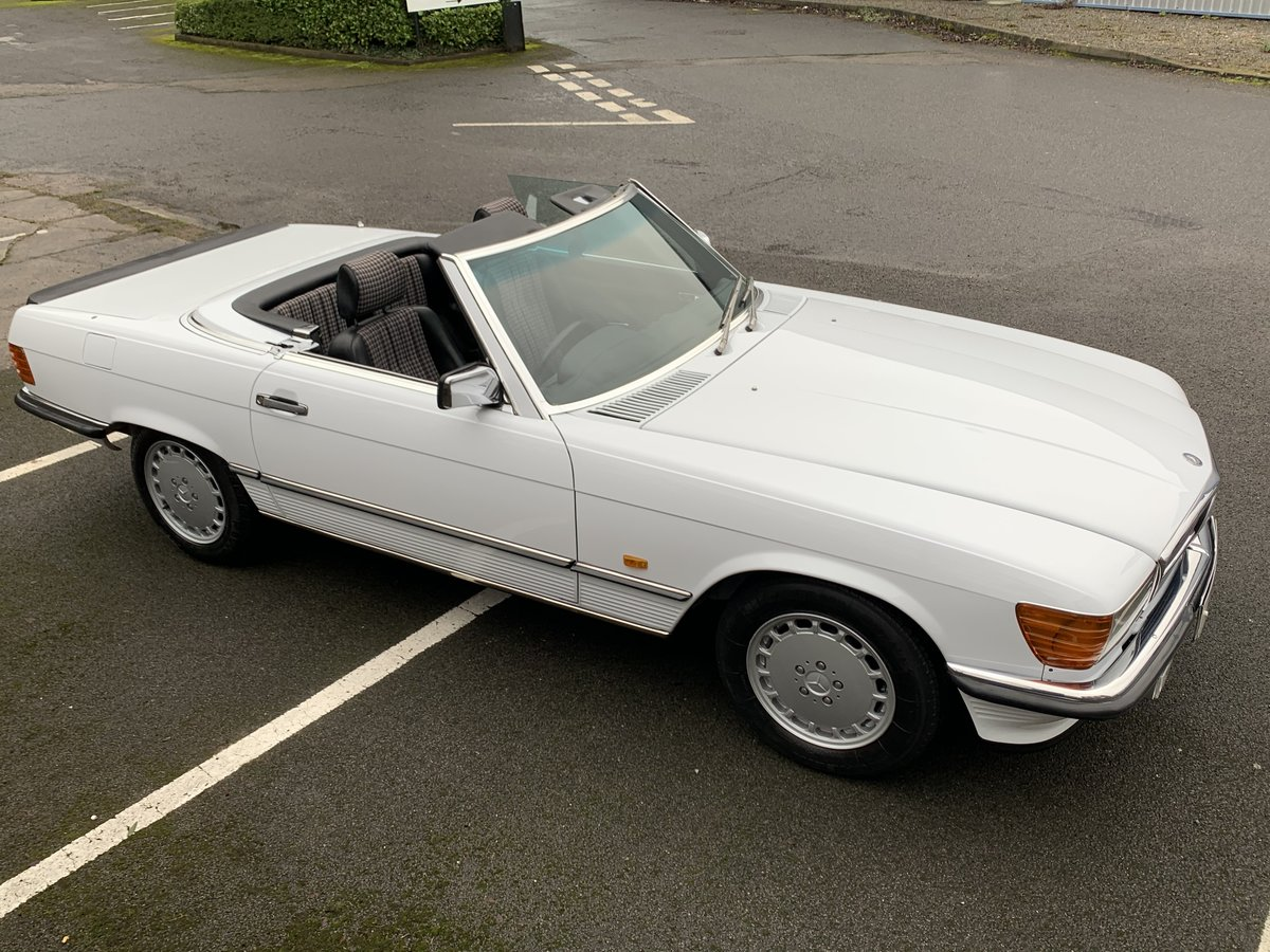 1987 MERCEDES 300SL W107 For Sale (picture 2 of 6)