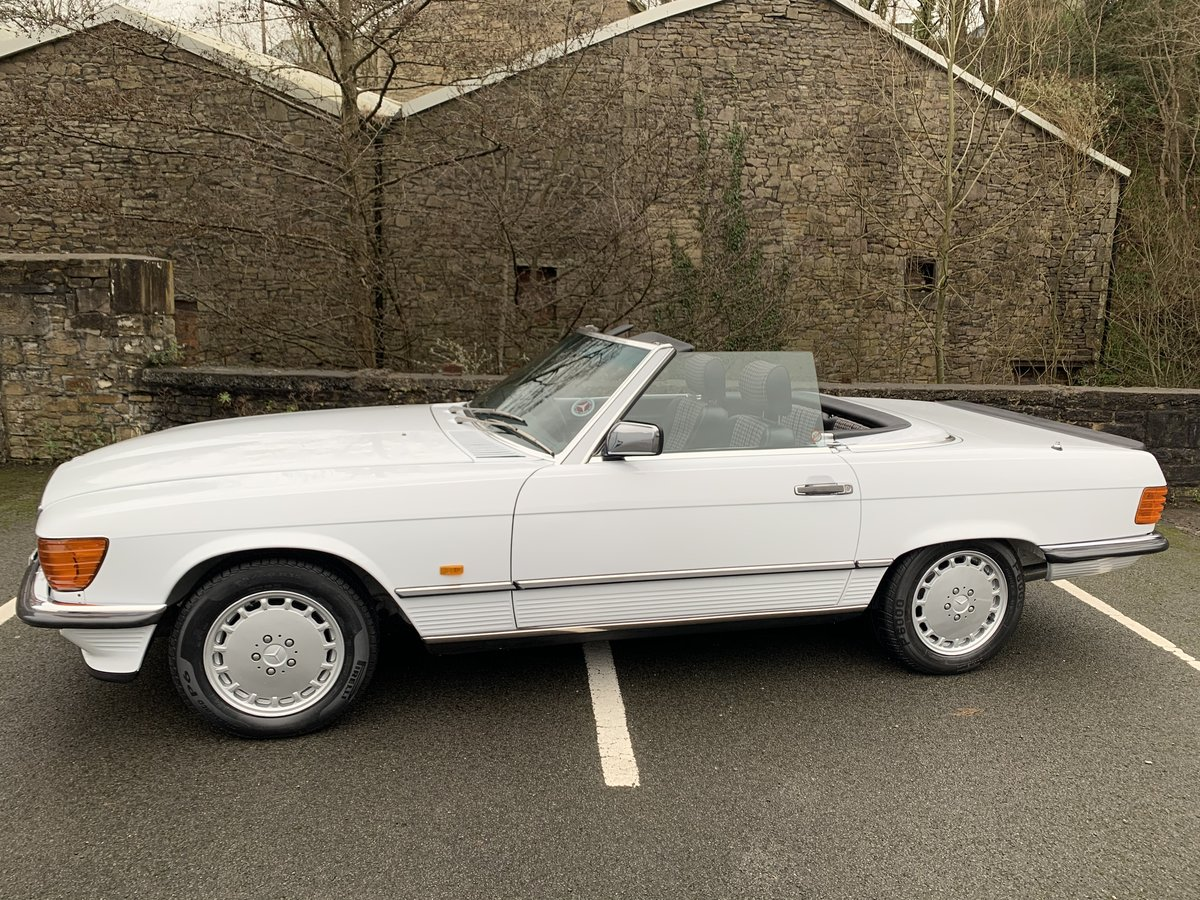 1987 MERCEDES 300SL W107 For Sale (picture 3 of 6)