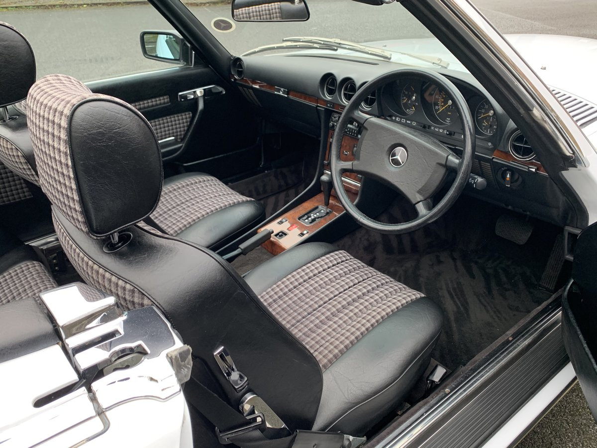 1987 MERCEDES 300SL W107 For Sale (picture 4 of 6)