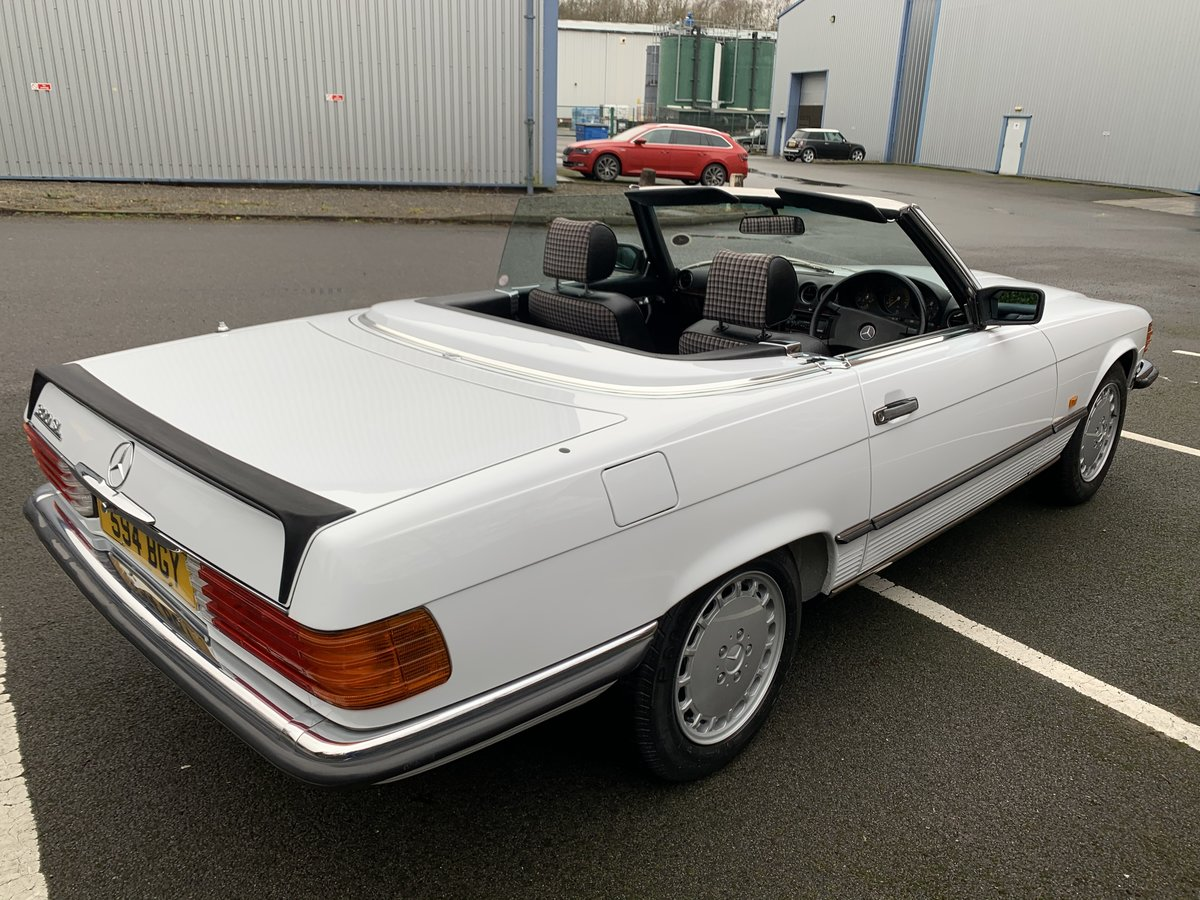 1987 MERCEDES 300SL W107 For Sale (picture 6 of 6)