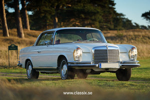 1970 Mercedes 280SE 3.5 V8 Flachkuhler, last chance before exit SOLD