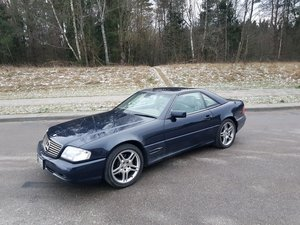 1998 very nice SL500 AMG Left hand drive For Sale