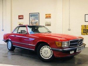 1983 MERCEDES-BENZ R107 500SL - LOW MILES, FANTASTIC HISTORY