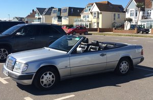 W124 Cabriolet Exceptional/ £1000's spent