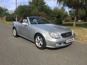 2002 Mercedes Benz SLK 320 V6 MK1 ONLY 31000 MILES For Sale