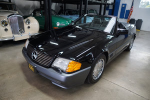 1991 Mercedes 500SL V8 Convertible with 9K orig miles