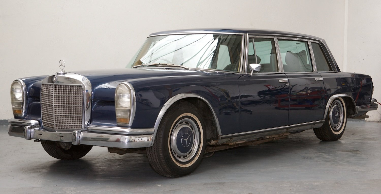1972 Mercedes 600 RHD available for restoration For Sale (picture 1 of 3)