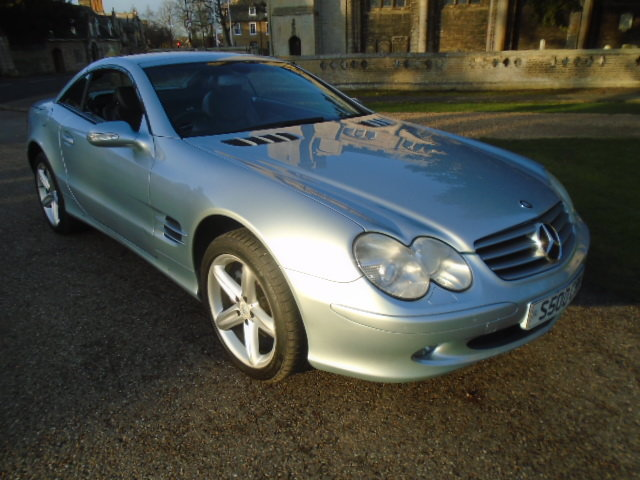 2003 Mercedes SL500 Convertible. Genuine 65000 Miles.REDUCED For Sale (picture 1 of 6)