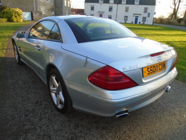 2003 Mercedes SL500 Convertible. Genuine 65000 Miles.REDUCED For Sale (picture 4 of 6)