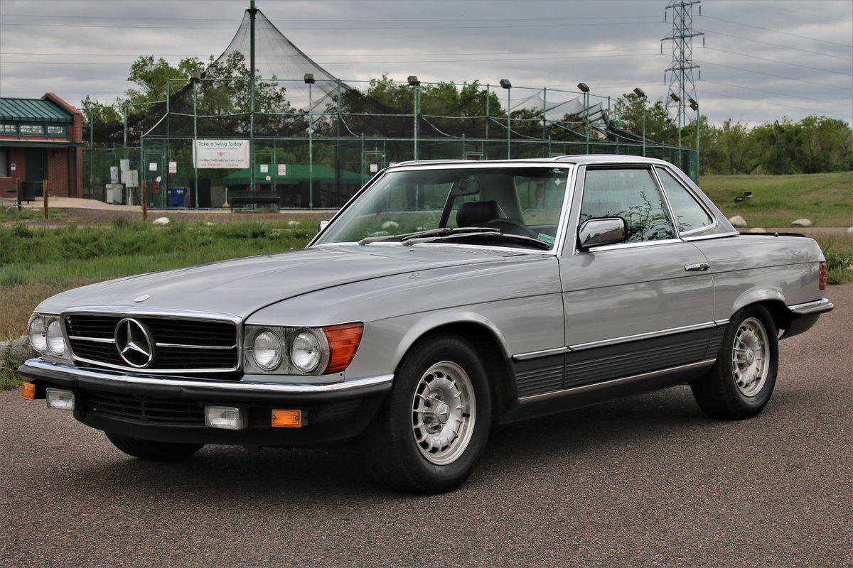 1984 Mercedes 500sl SOLD (picture 1 of 4)