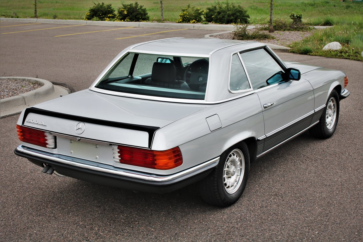 1984 Mercedes 500sl SOLD (picture 2 of 4)