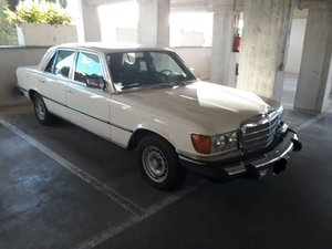 1980 MERCEDES 300 SD LHD ex USA turbodiesel  & SUNROOF