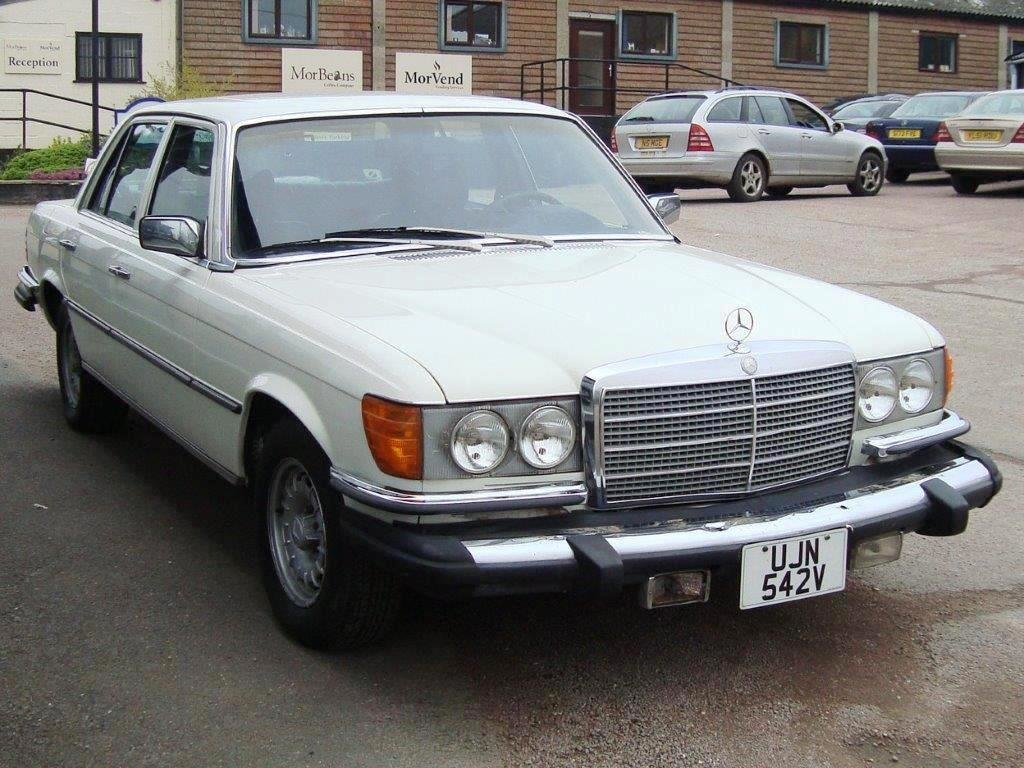 1980 MERCEDES 300 SD LHD Turbodiesel  & SUNROOF For Sale (picture 5 of 6)