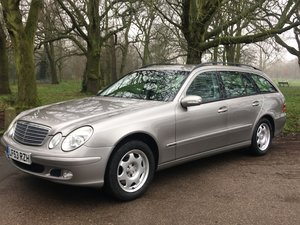 Picture of Mercedes E320 Petrol 7 seater estate 2003 low miles 1 owner  SOLD