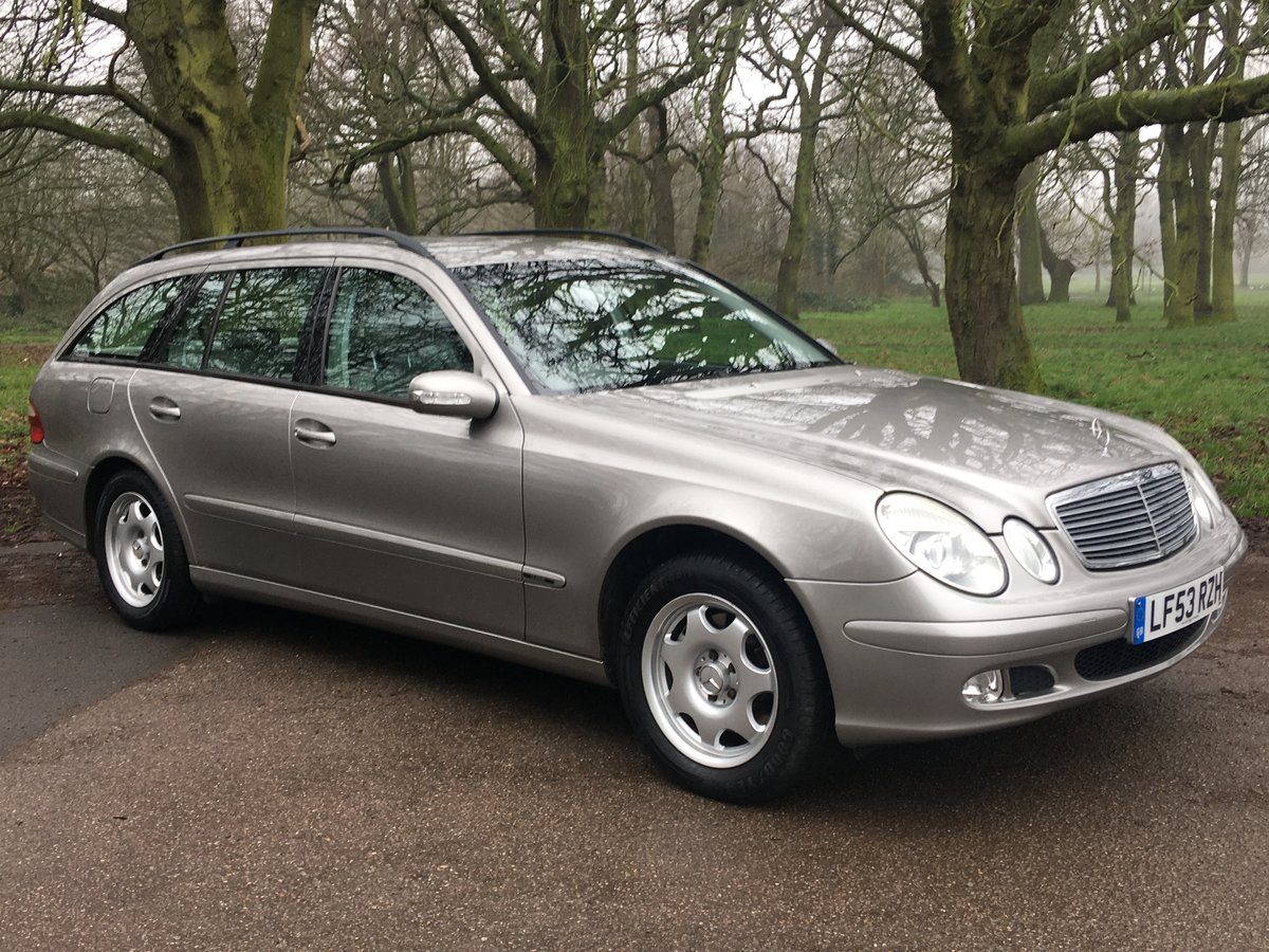 Mercedes E320 Petrol 7 seater estate 2003 low miles 1 owner  SOLD (picture 2 of 6)
