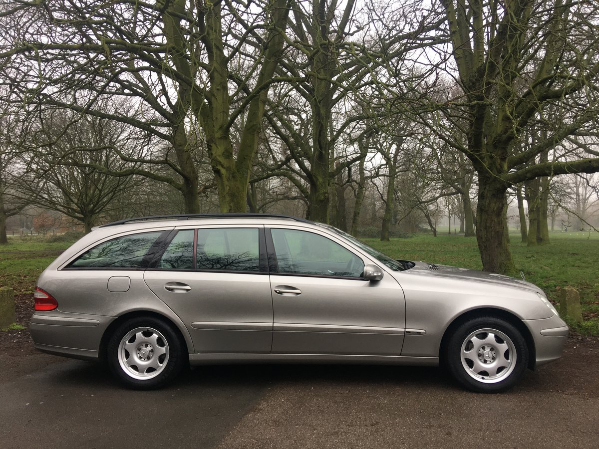 Mercedes E320 Petrol 7 seater estate 2003 low miles 1 owner  SOLD (picture 4 of 6)
