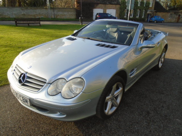 2003 Mercedes SL500 Convertible. Genuine 65000 Miles.REDUCED For Sale (picture 2 of 6)