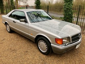 1988/F Mercedes 500SEC ***SOLD*** C126  560SEC 420 SEC W126 For Sale