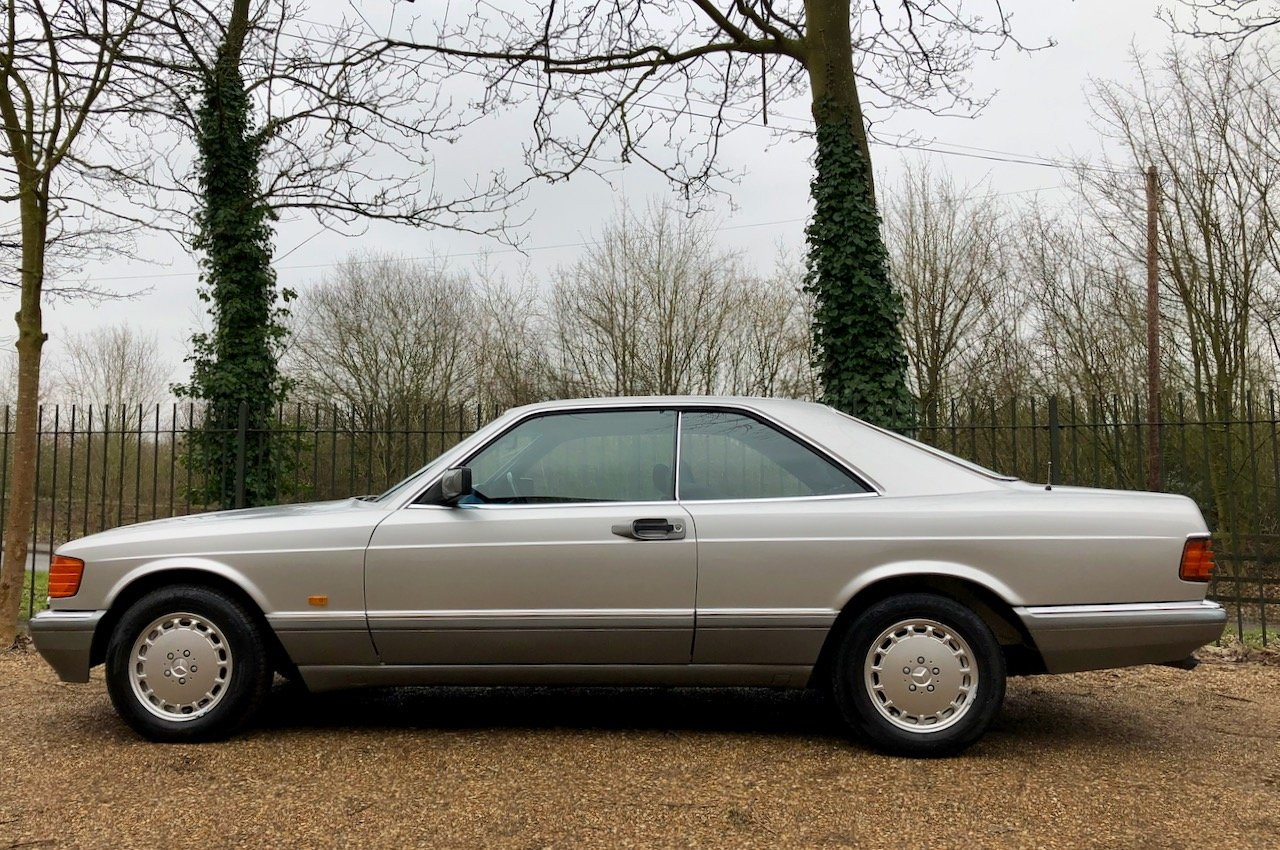 1988/F Mercedes 500SEC ***SOLD*** C126  560SEC 420 SEC W126 For Sale (picture 2 of 6)