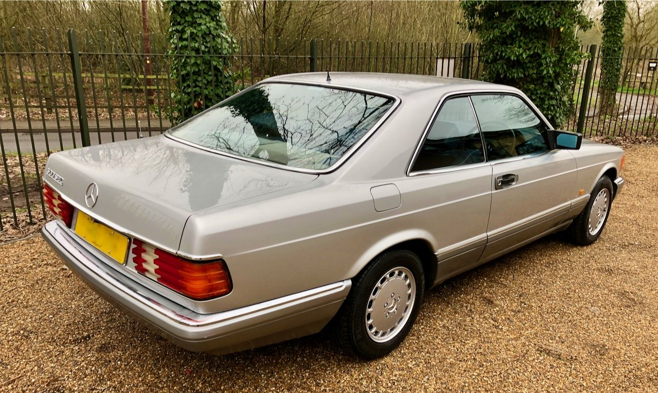 1988/F Mercedes 500SEC ***SOLD*** C126  560SEC 420 SEC W126 For Sale (picture 3 of 6)