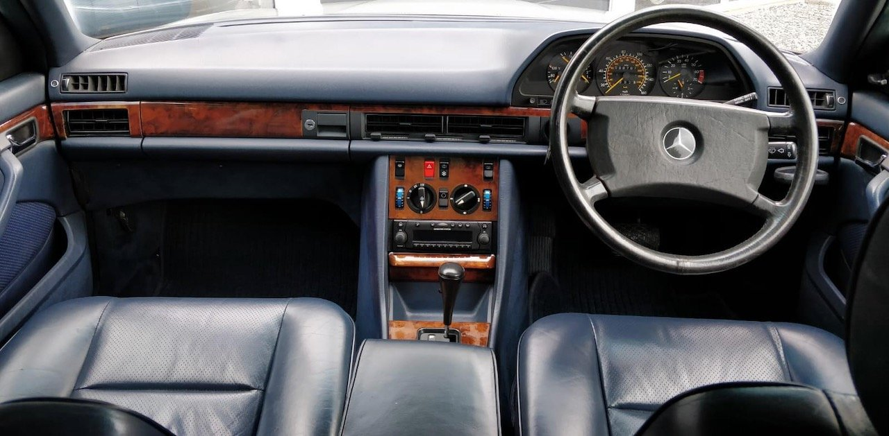 1988/F Mercedes 500SEC ***SOLD*** C126  560SEC 420 SEC W126 For Sale (picture 4 of 6)