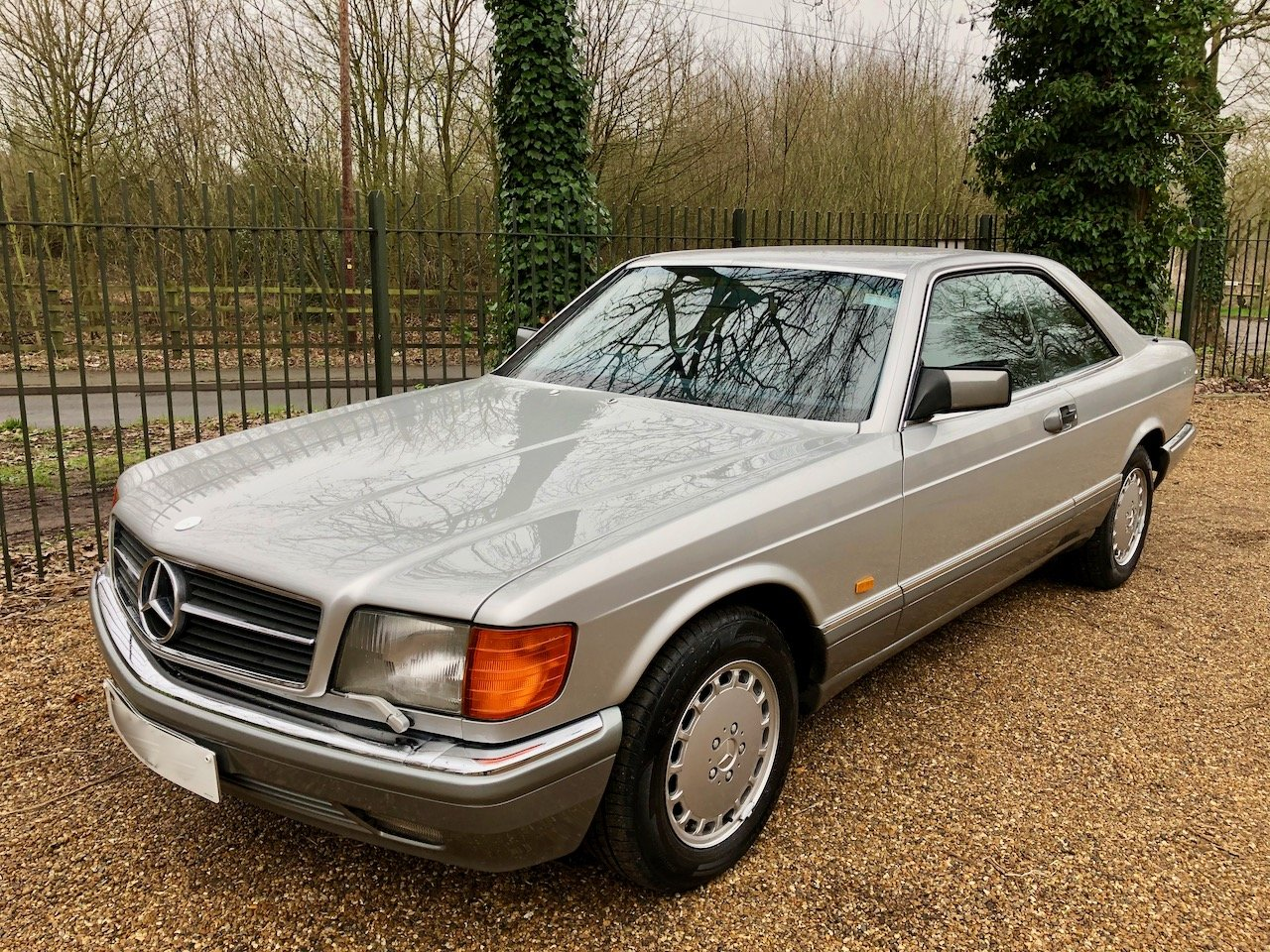1988/F Mercedes 500SEC ***SOLD*** C126  560SEC 420 SEC W126 For Sale (picture 6 of 6)