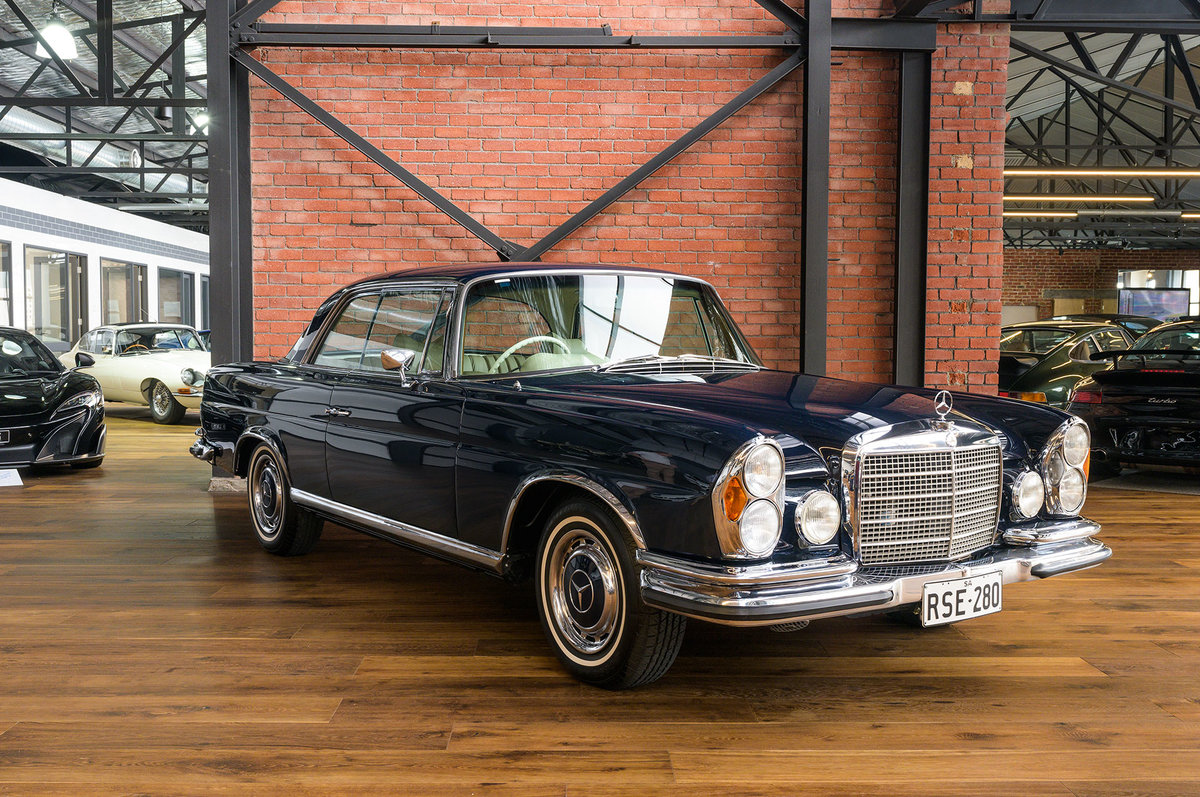 1970 Mercedes Benz 280SE 3.5 Coupe For Sale (picture 1 of 6)