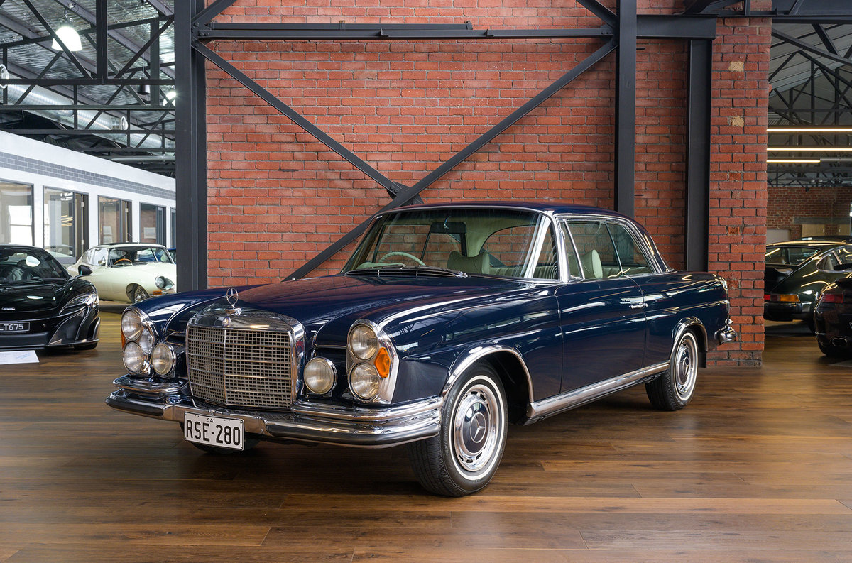 1970 Mercedes Benz 280SE 3.5 Coupe For Sale (picture 3 of 6)