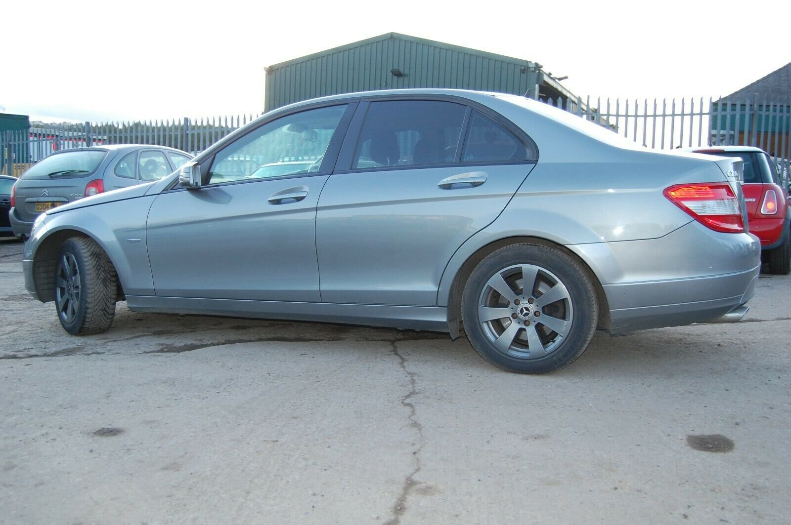 2009 59 PLATE MERCEDES BENZ FSH C250 2.2 BLUE EFFICIENCY For Sale (picture 2 of 6)