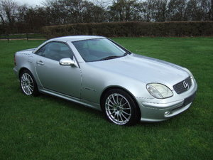 2002 Mercedes SLK200 Kompressor Convertible