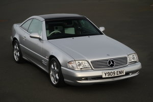 Picture of 2001 MERCEDES SL500 SILVER ARROW SOLD