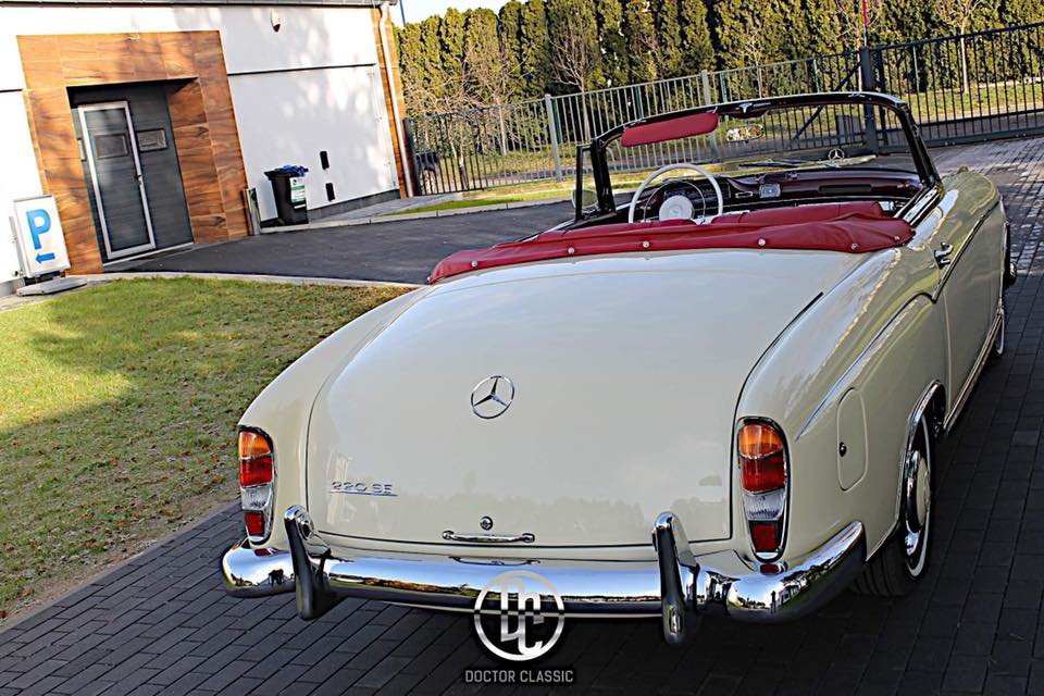 1960 Mercedes 220SE Hydrak Cab. 1 of 20 produced! RESTORED For Sale (picture 6 of 6)