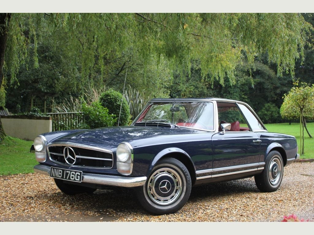 1980 Mercedes-Benz 280 2.7 SL 2dr 69 SL PAGODA,2 OWNERS, AMAZING For Sale (picture 1 of 1)