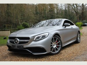 2015 Mercedes-Benz S Class 5.5 S63 V8 AMG SpdS MCT (s/s) 2dr UNBE For Sale