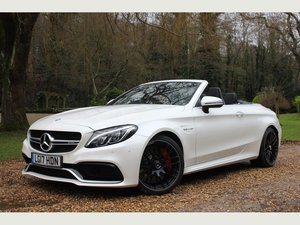 2017 Mercedes-Benz C Class 4.0 C63 V8 BiTurbo AMG S (Premium) Cab For Sale