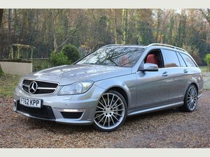 2012 Mercedes-Benz C Class 6.3 C63 AMG MCT 7S 5dr (COMAND) OUTSTA For Sale