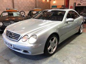 Mercedes-benz cl-class cl500 auto 5.0 v8 silver