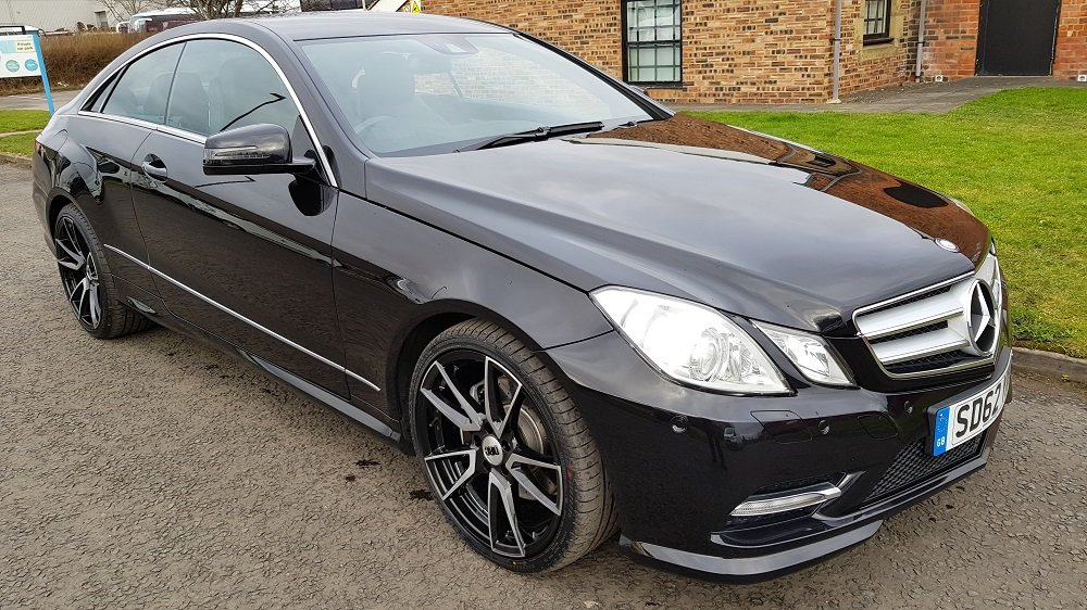 2012 62 E Class E250 2.1 CDI (S/S) BlueEff AMG Sport, 7G Tron For Sale (picture 1 of 6)