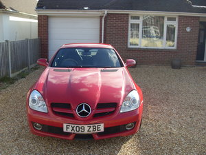 2009 Mercedes Benz SLK 200 automatic (price reduced)