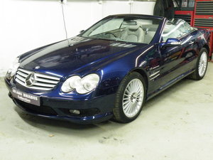 2002 Mercedes SL55 AMG Kompressor  For Sale