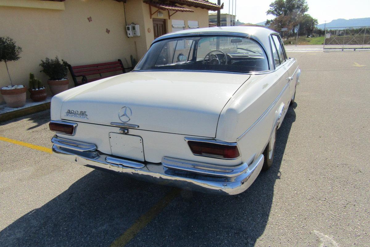 1965 Mercedes 300SE Coupe  auto For Sale (picture 3 of 6)