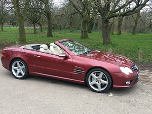 Mercedes SL55 AMG 2006/56 low miles Full M.B History