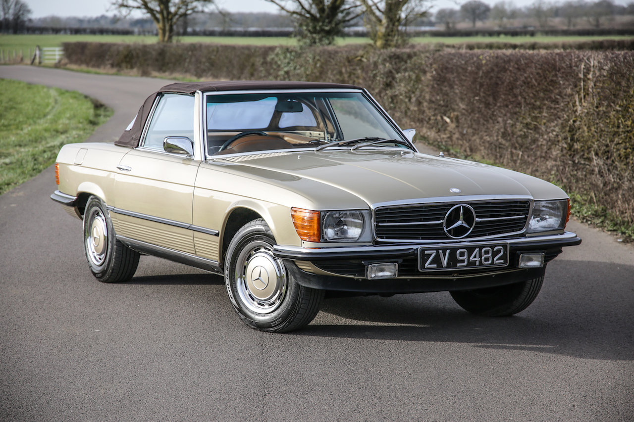 1972 Mercedes-Benz 350SL V8 (R107) #2193 Early No Headrest Model For Sale (picture 1 of 6)