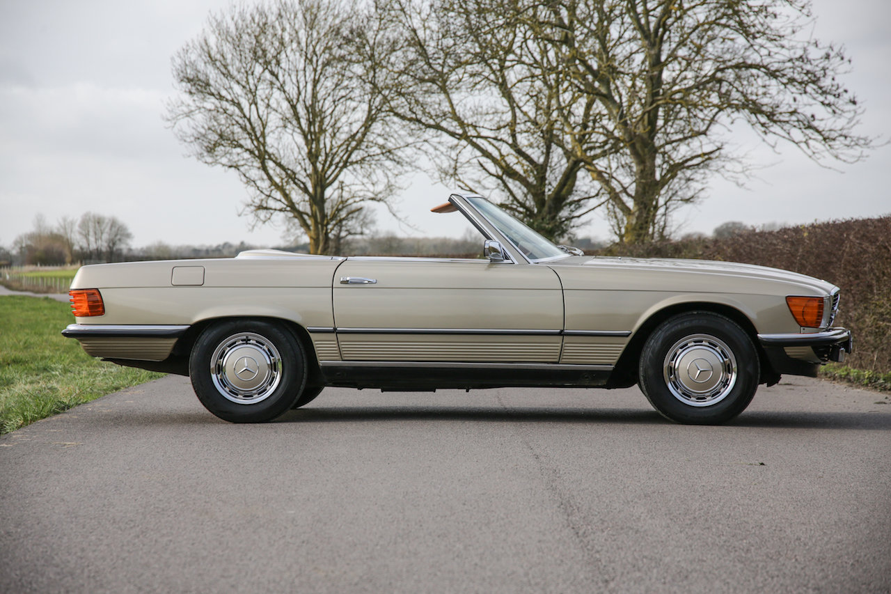 1972 Mercedes-Benz 350SL V8 (R107) #2193 Early No Headrest Model For Sale (picture 4 of 6)